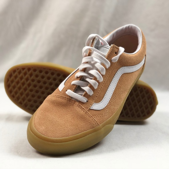 1d53464898 Vans Old Skool Double Light Gum Apricot Suede.